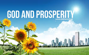 God and prosperity .images