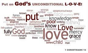 God's uncoditional love