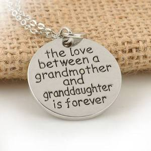 Love betwwen a grandmother and a granddaughter is fo ever_n