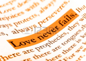 Love-never-fails-on-holy-bible