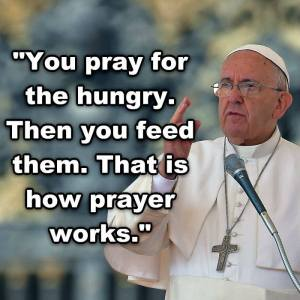 Pope Francis's prayer for the poor_n
